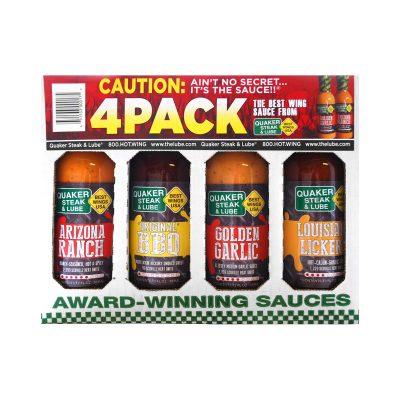 Quaker Steak & Lube: Award Winning 4-pack