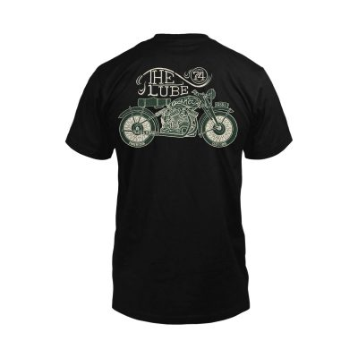 Quaker Steak & Lube: Antique Motorcycle Tee