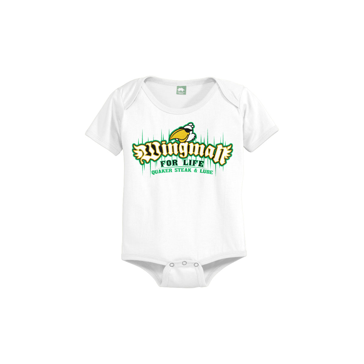 "Quaker Steak & Lube: ""Wingman"" Onesie"