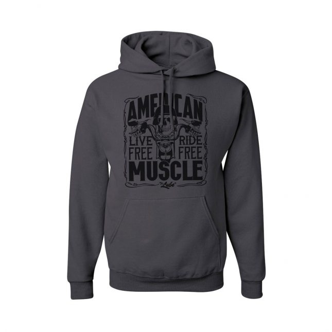 QSL15 BIKE NIGHT AMERICAN MUSCLE HOODIE 1200