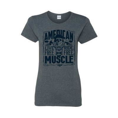 Quaker Steak & Lube: Ladies American Muscle Tee