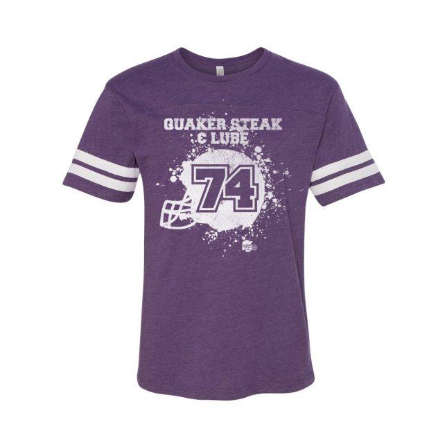 QSL0716 FootballHelmetSplatter Mens Purple 1200