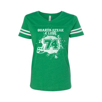 QSL0716 FootballHelmetSplatter Womens Green 1200