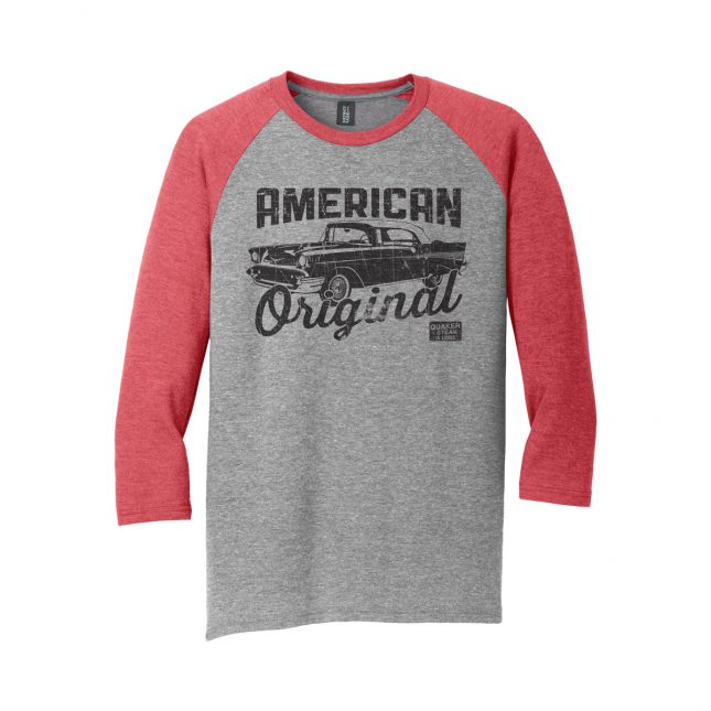 QSL17 AmericanOriginal BaseballTee Mens Red 1200