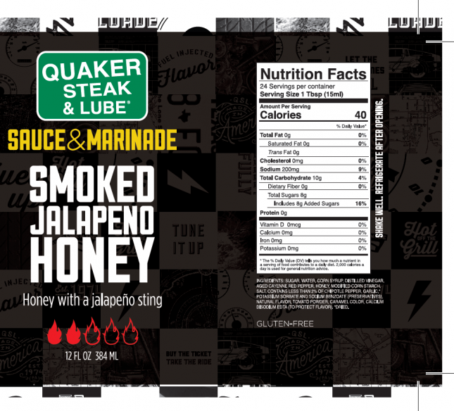 Smoked Jalapeno Honey Label