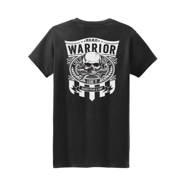 QSL18 Road Warrior Tee black back g5000l 1200