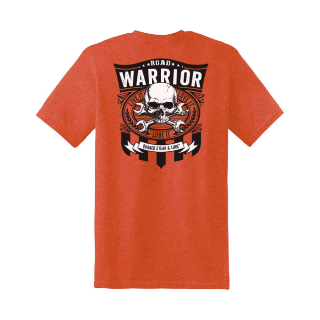 QSL18 Road Warrior Tee g5000 antique orange back 1200
