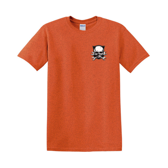 QSL18 Road Warrior Tee g5000 antique orange front 1200