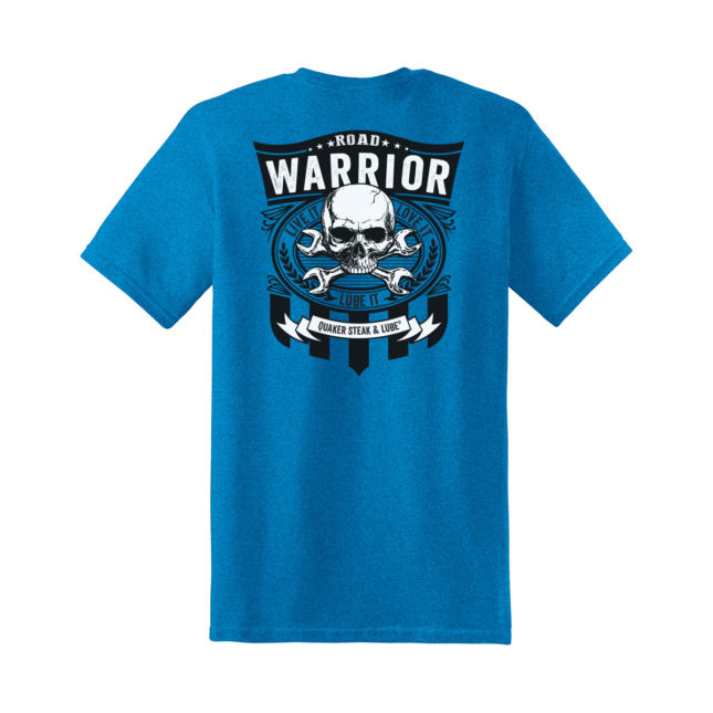 QSL18 Road Warrior Tee g5000 antique sapphire back 1200