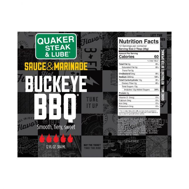 QSL0920 Buckeye BBQ Label