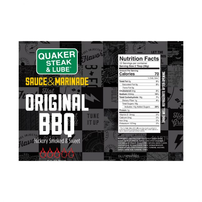 QSL0920 Original BBQ Label